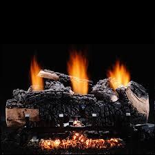 hargrove 24 inch cumberland char vent free propane gas log set