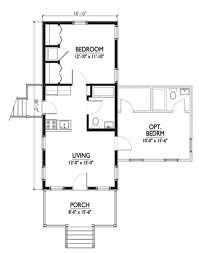 Small House Plans Cottage by Cottage Style House Plan 1 Beds 1 Baths 576 Sq Ft Plan 514 6