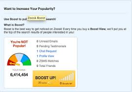 Although one of the biggest advantages of Zoosk is its large database  it can be that much harder to stand out from the rest of the     Online Personals FAQ
