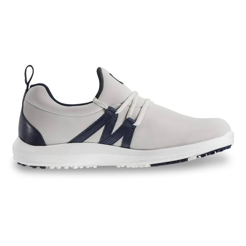 FootJoy FJ Leisure Slip-On Golf Shoes Grey/Navy,