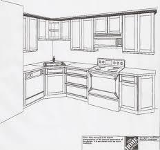 l kitchen layout home design