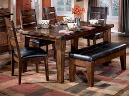Ashley Furniture Dining Room Chairs Homelegance Alita 6 Piece Dining Room Set W Bench In Warm Dining