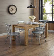 Brown Dining Room Table Better Homes And Gardens Bryant Dining Table Rustic Brown