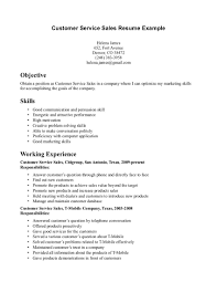Resume Examples  Resume Objective Statement for Customer Service         Representative And Resume Examples  Customer Service Sales Resume Sample With Objective Statement In Job Position And Skills