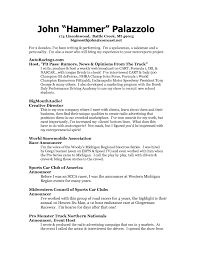 Resume Sample Pdf Free Download by Tv Host Resume Sample Free Resume Example And Writing Download
