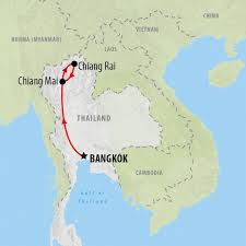 Bangkok Location In World Map by Express Group Tour Of Thailand In 5 Days On The Go Tours Uk