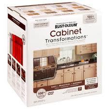 Rustoleum Kitchen Cabinet Paint Rust Oleum Transformations Light Color Cabinet Kit 9 Piece Inside
