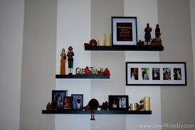 living room using the floating shelves living room for boosting