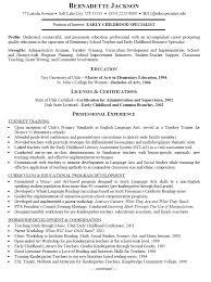 Example Teacher Resume Cover Letter   Sample Resumes Dayjob