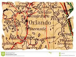 Orlando Florida On Map by Pushpin In Orlando Florida Map Royalty Free Stock Images Image
