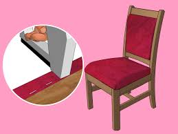 How To Stop Swivel Chair From Turning The Best Way To Reupholster A Chair Wikihow