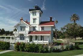 Decorative Lighthouses For In Home Use Point Fermin Lighthouse Unique Architecture In La