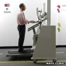 treadmill desks how practical are they bbc news