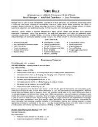 Sample Resume For Retail Manager by Examples Of Resumes 81 Fascinating Good Resume Example Best