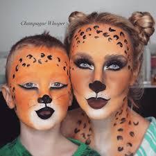 Halloween Kids Witch Makeup by Leopard Halloween Fancy Dress Face Paint Tutorial Kids Or Adults