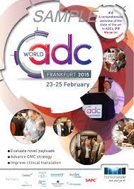 world adc frankfurt 2015 sample brochure