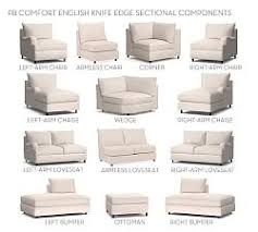 Build Your Own Sectional Sofa by Sectional Sofas Pottery Barn