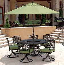 Patio Furniture From Walmart - styles small patio table with umbrella hole is perfect for indoor
