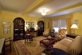 Yellow Interior by Using Green Yellow And Red In Interior Design