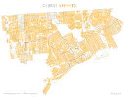 Detroit Michigan Map by Boulevard Avenue Road And Street In Detroit Detroitography