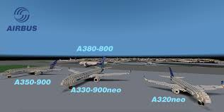 airbus a380 800 world collection minecraft project