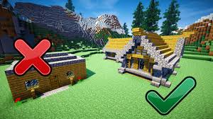 5 easy tips to build better in minecraft youtube