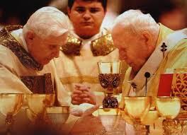 Ratzinger e Wojtyla