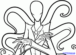 how to draw slenderman slender man step 6 how to draw