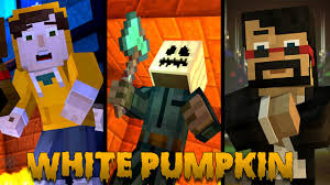 minecraft story mode episode 6 what youtuber is white pumpkin