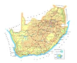 Physical Map Of Africa by Maps Of South Africa Map Library Maps Of The World