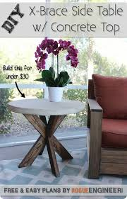 best 25 outdoor side table ideas on pinterest easy patio