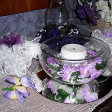 Purple Floating Candles For Centerpieces by 11 Best Flower Centerpieces Purple Images On Pinterest Flower
