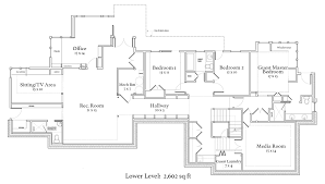 One Level Home Plans 15 Luxury House Plans One Story Homes Level With Bon Hahnow