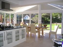 open plan kitchen david fennings conservatories
