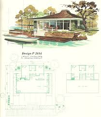 vintage house plans vacation homes 1960s teeny tiny house love