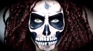 The 15 Best Sugar Skull Makeup Looks For Halloween Halloween 10 totally f u0027d up halloween makeup looks to terrify trick or