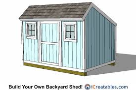 Free Saltbox Wood Shed Plans by 8x12 Shed Plans Buy Easy To Build Modern Shed Designs