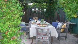 southern california gardening inexpensive garden party decorating