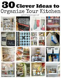 30 clever ideas to organize your kitchen refrigerator freezer