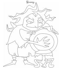 the addams family coloring pages grandmama