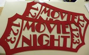 Home Movie Theater Wall Decor Custom Made Home Theater Decor Red Movie Ticket