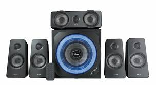 genius sw 5 1 home theater trust gxt 658 tytan 5 1 gaming surround speaker system with