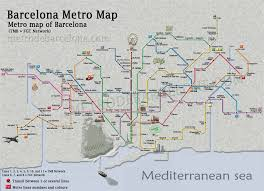 Metro Lines Map by Barcelona Metro Lines Map Timetables And Barcelona Metro