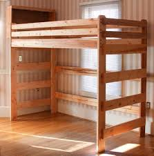 Plans For Building Bunk Beds by Extra Tall Loft Bed A Customer Built Using Our Plans Loft Beds