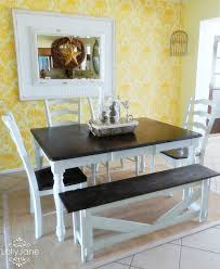 Dining Room Table Ideas by Painted Dining Room Set Painting The Dining Room Table A