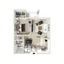 Single Bedroom Apartment Floor Plans by Apartment Floorplans City View Orlando Florida