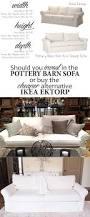 Ikea Sofa Ikea Ektorp Versus Pottery Barn Grand Sofa