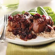 cranberry ginger pork ribs recipe taste of home