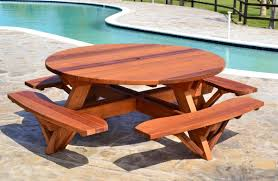 Building Plans For Picnic Table Bench by 24 Picnic Table Designs Plans And Ideas Inspirationseek Com