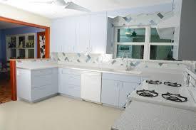 White Tile Kitchen Backsplash Small Kitchen Decoration Using Light Blue Kitchen Vent Hood